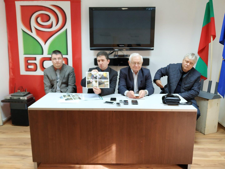 Съветниците от БСП ще защитят позицията на партията за бюджета на Бургас. Снимка Черноморие-бг