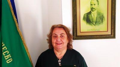Жечка Карова – председател на ТД Родни балкани с престижната награда от БТС