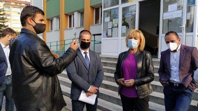 Мая Манолова и Живко Табаков се срещнаха с директора на РИОСВ - Бургас