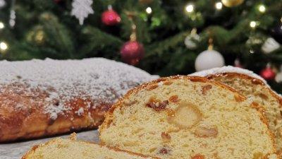 Щоленът е един от десертите, които присъстват на трапезата в немско езичния свят на Коледа. Снимки Chef Димитър Боев