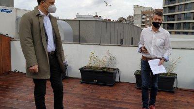 Сред засегнатите сфери в бюджета на Общината ще бъде и културата, каза кметът на Бургас Димитър Николов (вляво). Снимка Авторът