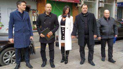 На изборите през април Георги Манев (вторият отдясно наляво) бе втори в листата на ВМРО. Снимка Архив