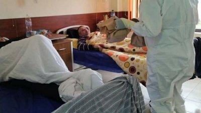 Отделението има капацитет за 16 болни от корона вирус