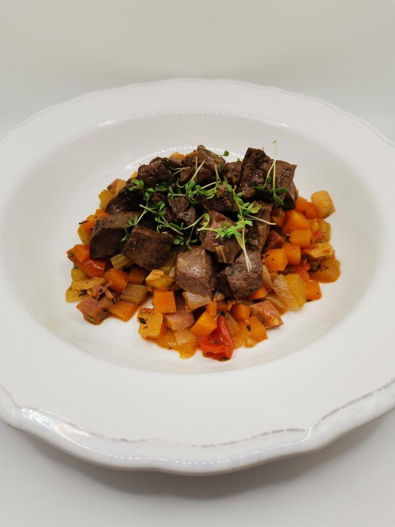 Това ястие се приготвя бързо и лесно, но е изключително вкусно. Снимка Chef Димитър Боев