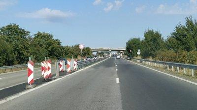 Движението ще се осъществява в платното от Бургас посока София