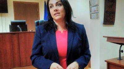Съдия Вълкова е направила предложението си в доклад на форум на ВСС. Снимка Лина Главинова