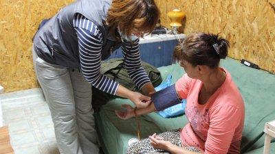 В медицинския пункт работят фелдшер и медицинската сестра. Снимка Пресцентър Община Каварна
