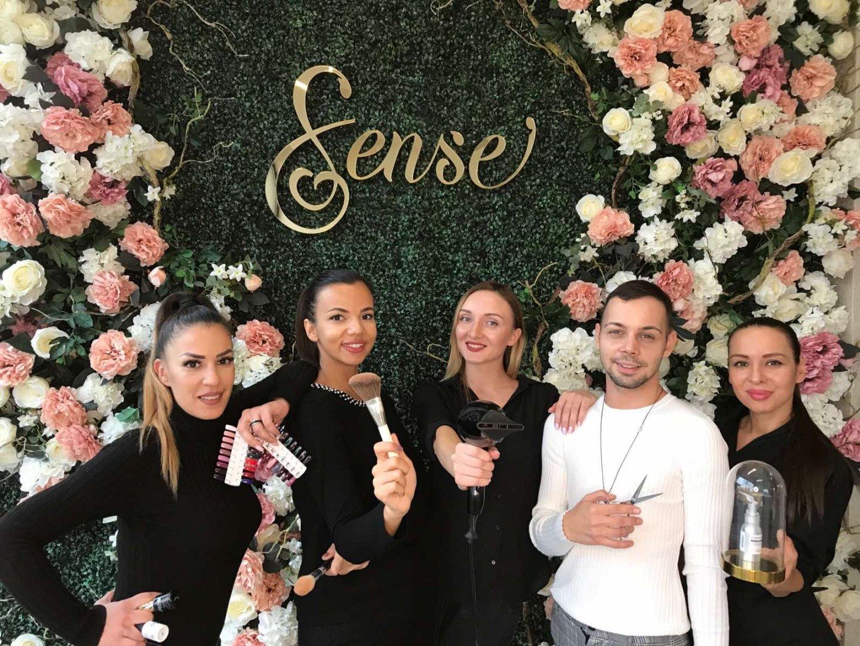 В SENSE Beauty Salon работи екип от професионалисти