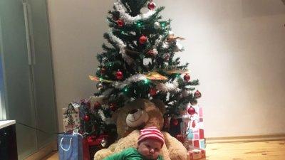 Преслав е на четири месеца и това е първата му Коледа