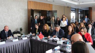 В Одрин бе проведено и първото заседание на Работната група за програмиране и одобрение на новата програма за периода 2021-2027 г. Снимка МРРБ