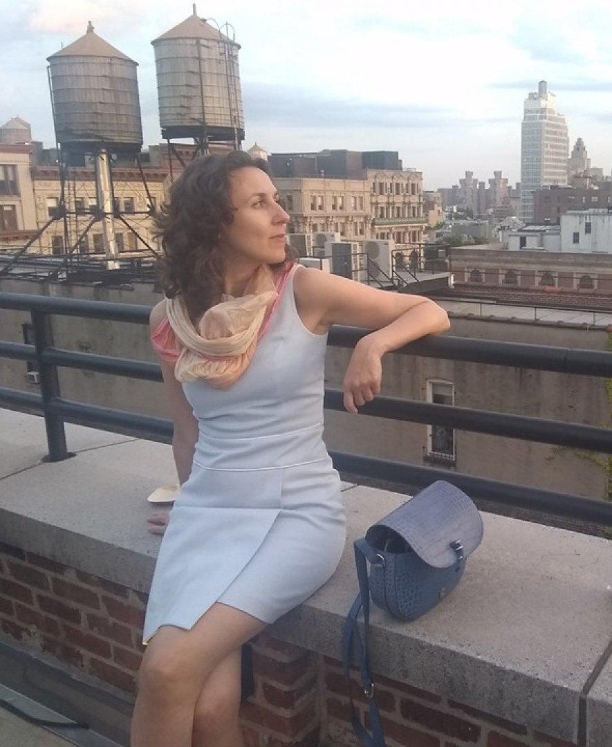 Ирина Папанчева е родена в Бургас, но в момента живее в Брюксел. Снимка Личен архив