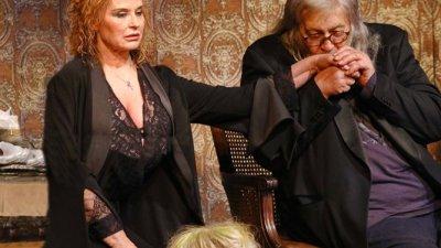 Аня Пенчева и Стефан Данаилов играят в пиесата на Питър Куилтър