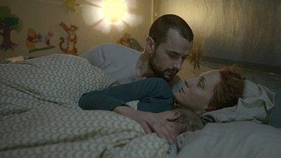 Кадър от филма Ирина на Надежда Косева