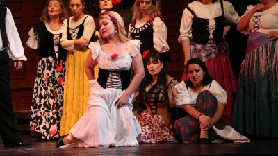 Операта Кармен ще бъде представена на 11-ти декември. Снимки Русален Михайлов