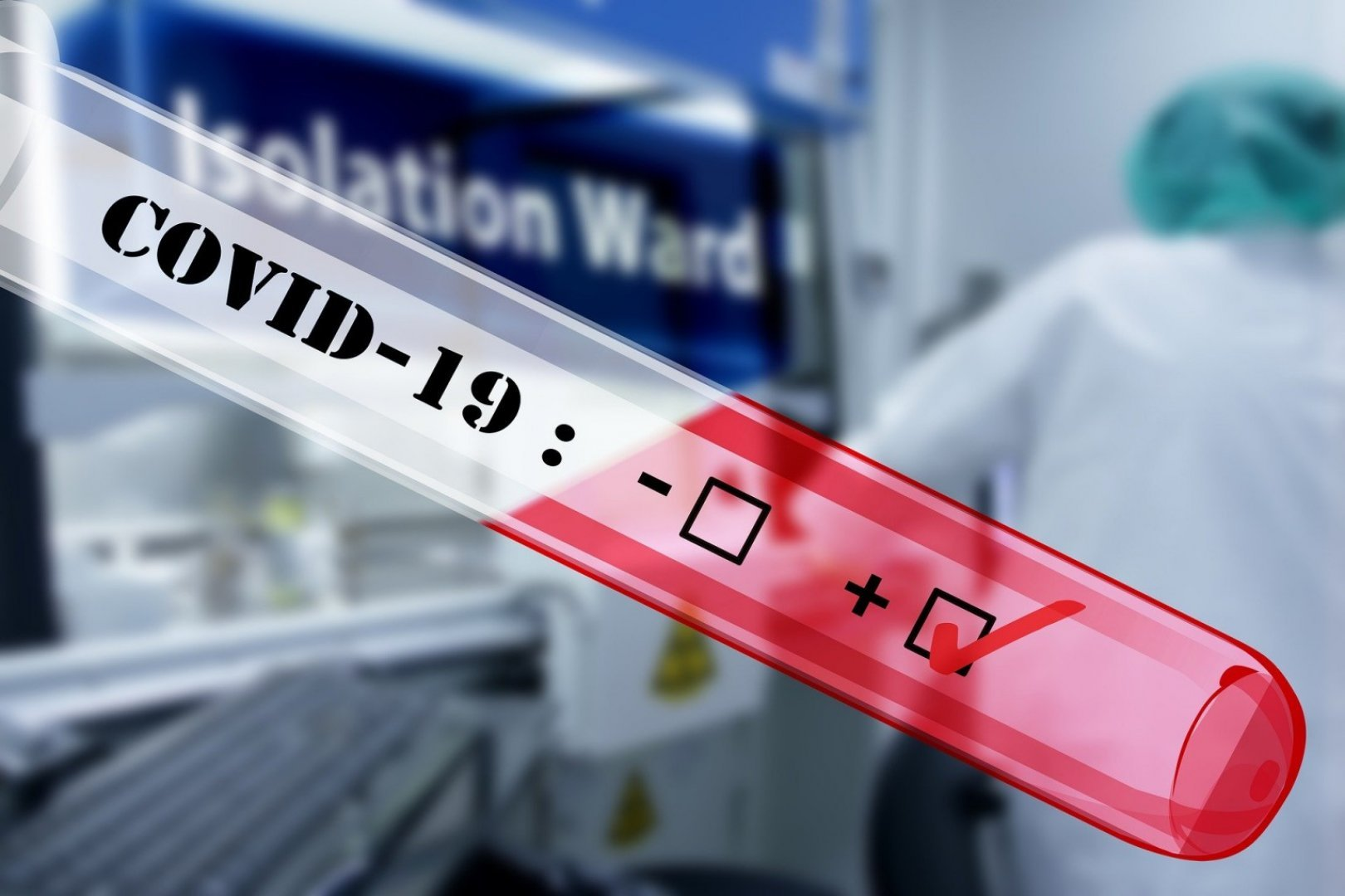 Потвърдените случаи чрезPCR теста са 927броя, а чрез бърз антигенен тест - 935.Снимката е илюстративна