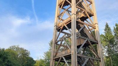 Кулата на Гьоте се е превърнала в една от атракциите на Франкфурт на Майн. Снимка Авторът