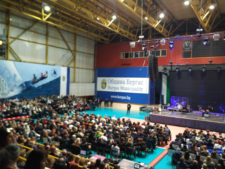 1 630 билета бяха продадени за концерта на Лили в Бургас