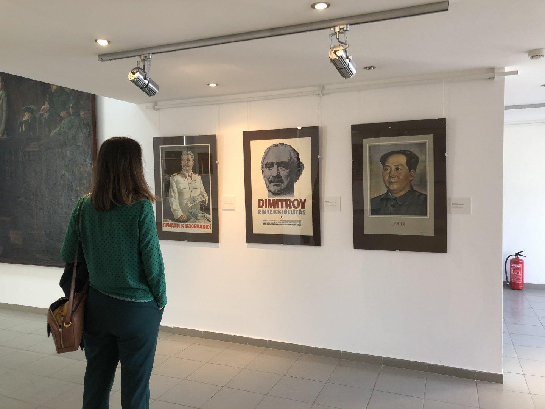 Музеят на социалистическото изкуство в София привлича все повече посетители. Снимки Авторът