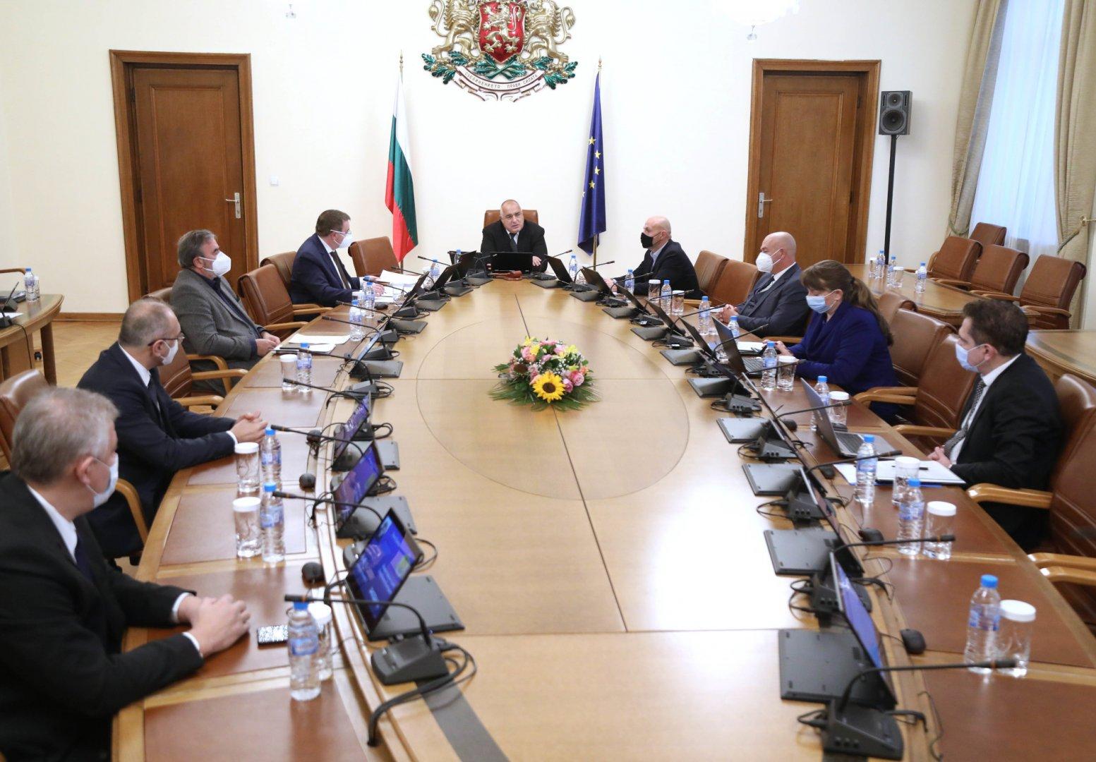 Решението е взето на заседание на Министерски съвет. Снимка Министерски съвет
