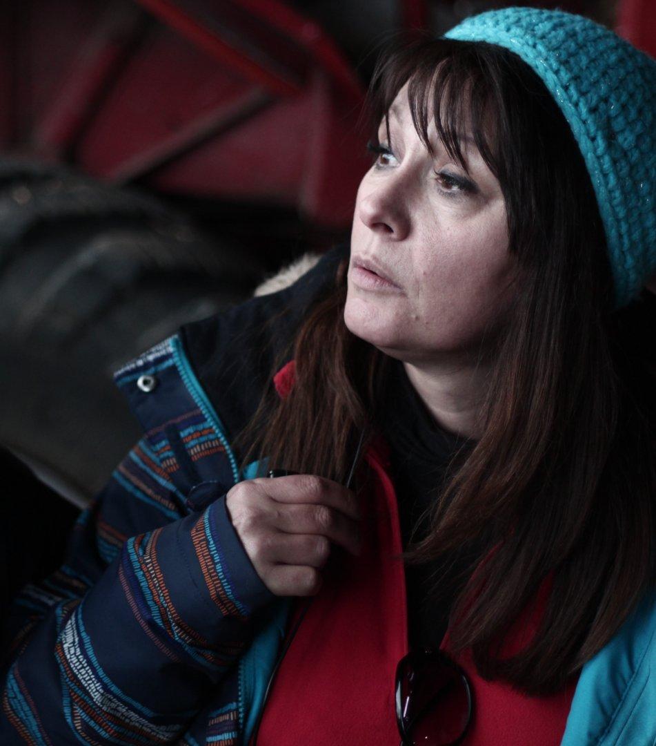 Мария Лалева е сценарист и продуцент на филма Дамасцена. Снимка Жената днес