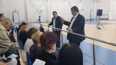 Кандидатите за съветници Ангел Божидаров и Бенчо Бенчев отговориха на въпросите на гражданите