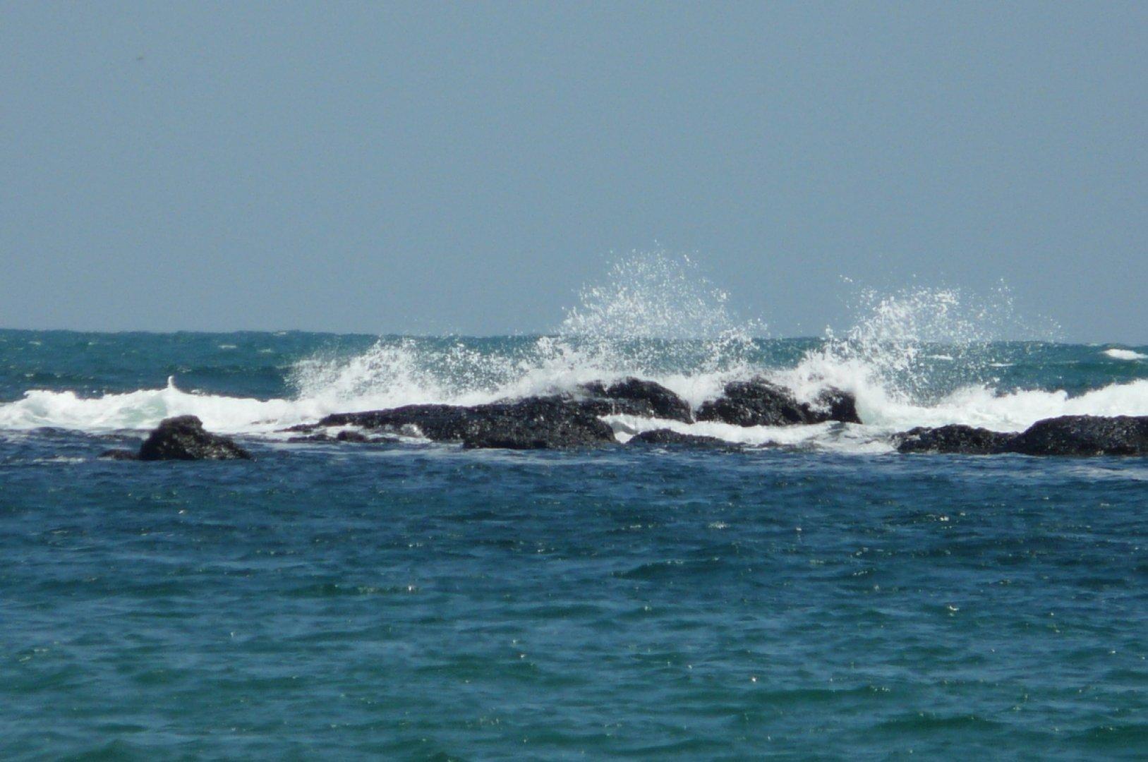 Температурата на морската вода е 24-25°. Вълнението на морето ще бъде 3 - 4 бала. Снимка Архив Черноморие-бг