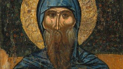 Свети Антоний лекувал болни и прогонвал бесове