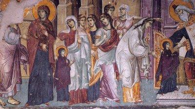 Православната църква празнува въведение Богородично