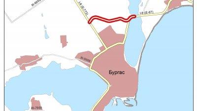 Дължината на северния обход на Бургас ще бъде дължина 4,7 км. Снимка АПИ