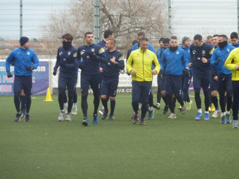 Поморийци взеха ценни три точки срещу отбора на Марица. Снимка Архив