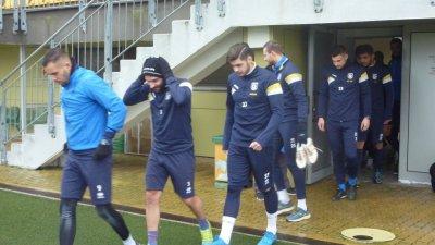 В отбора на Поморие няма контузени футболисти. Снимка Архив