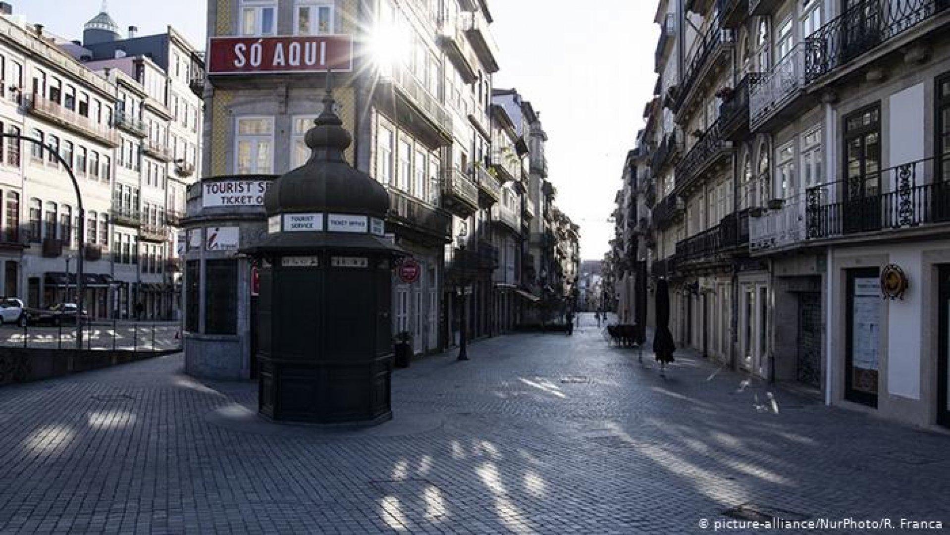 Португалия е в извънредно положение до края на месеца