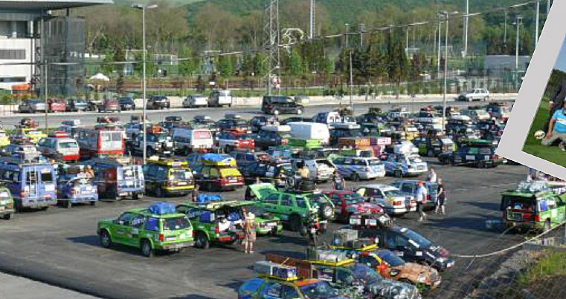 240 автомобила участват в ралито