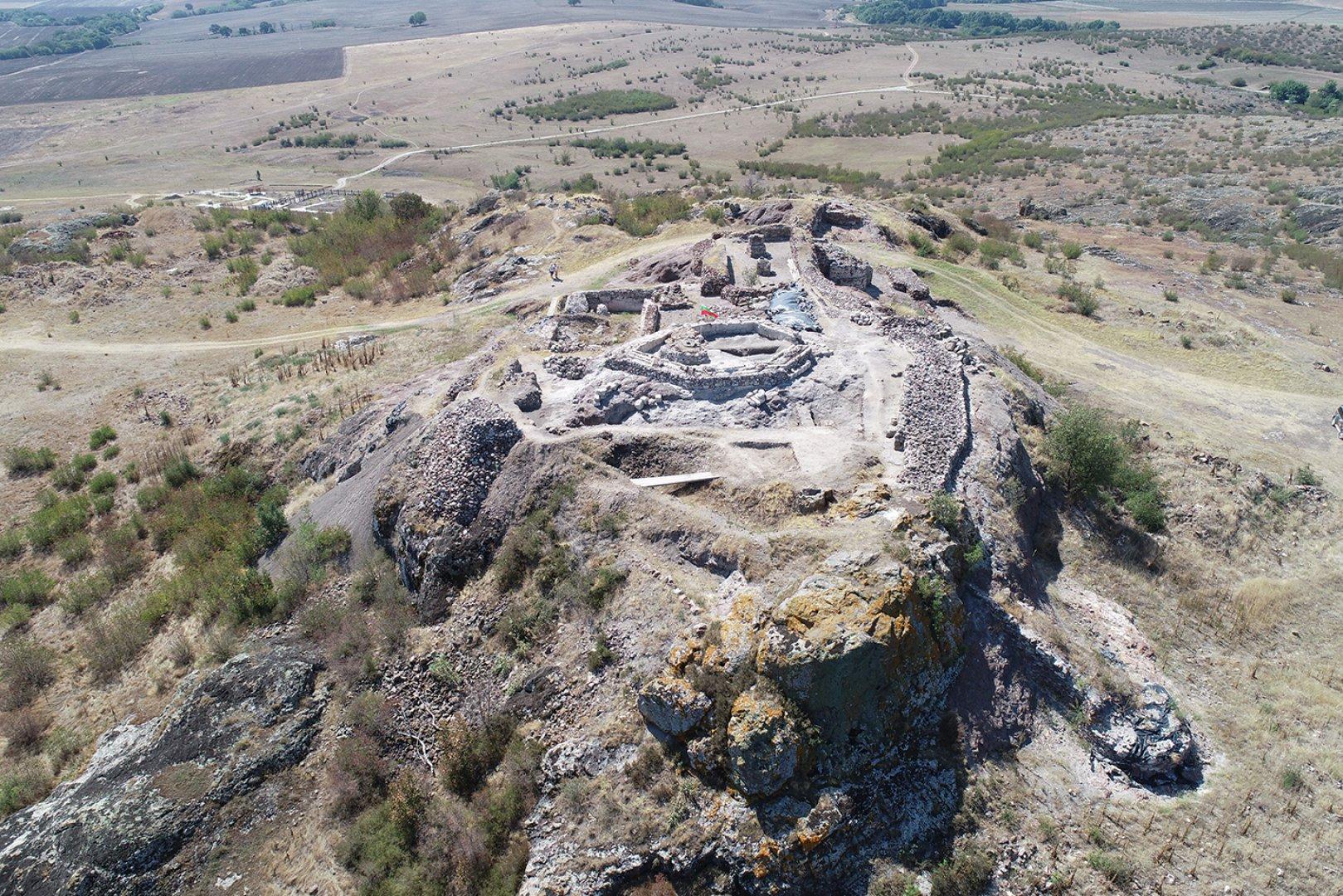 Разкопките на Русокастро приключиха през октомври. Снимки РИМ - Бургас