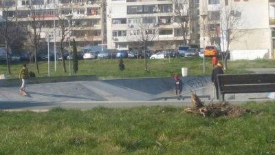 Учениците са карали колела и скейтборд в парка в Изрев