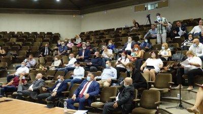 Предложението бе гласувано да сесия на местния парламент. Снимка ОбС - Варна
