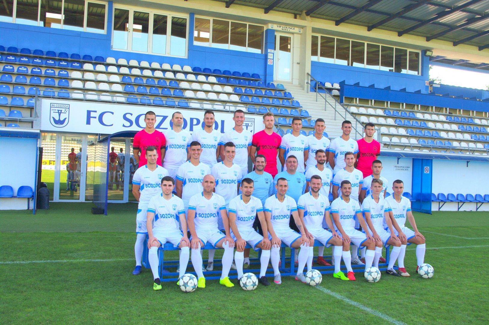 Отборът на Созопол спечели три точки. Снимка ФК Созопол
