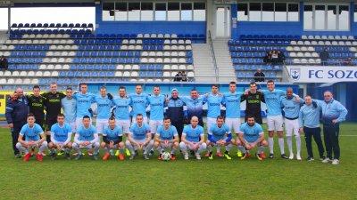 На 6-и март Созопол гостува на бургаския Черноморец в среща от първия пролетен кръг. Снимка ФК Созопол