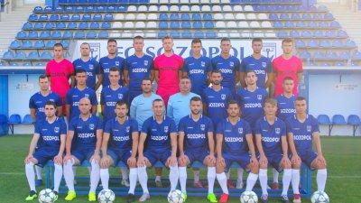 Созопол се готви за мача със Свиленград в събота. Снимка ФК Созопол