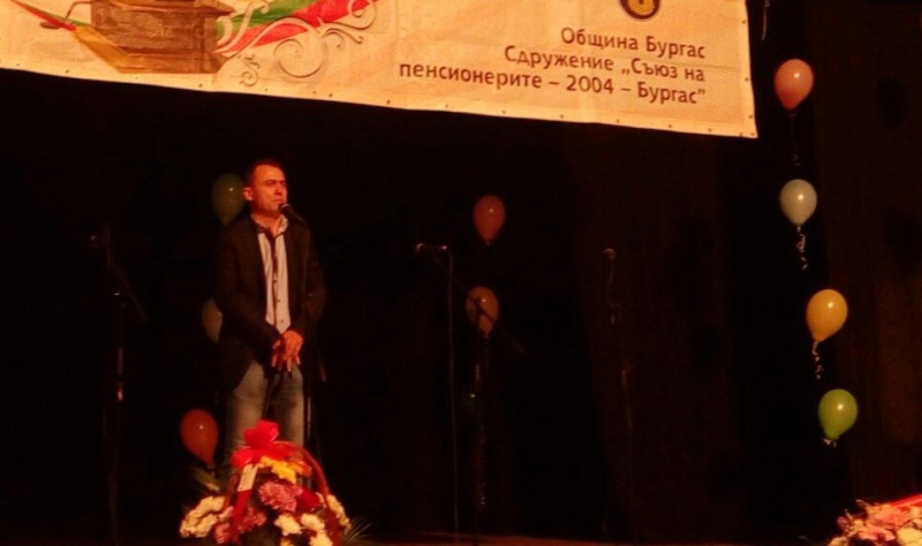 Председателят на тракийско дружество Странджа Стефан Колев поздрави участниците във фестивала