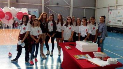 Бургаските ученици се включиха в асамблеята. Снимки Личен архив