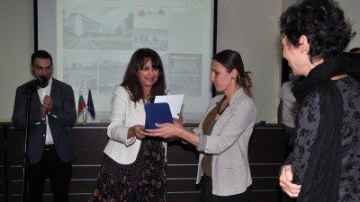 Председателят на ОбС Севдалина Турманова връчи голямата награда