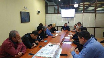 Предложението бе разгледано на заседание на Транспортната комисия към ОбС. Снимки ОбС - Варна