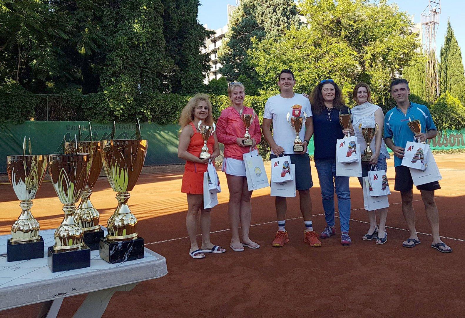 Финалистите във всяка от групите получиха купи, грамоти, предметни награди и ваучери за почивка.