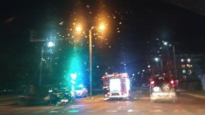 Инцидентът е станал тази вечер към 19.00 часа