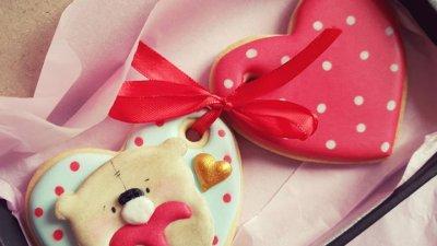 Сладките валентинки са хубав подарък за празника. Снимки Личен архив