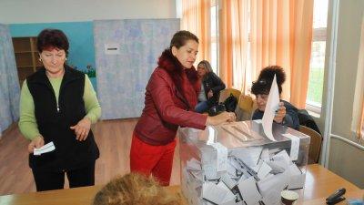 В община Приморско днес имаше балотажи за кмет на община и за кмет на Китен. Снимка Лина Главинова