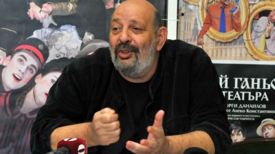 Борислав Чакринов започва репетиции на нов спектакъл. Снимка Архив Черноморие-бг