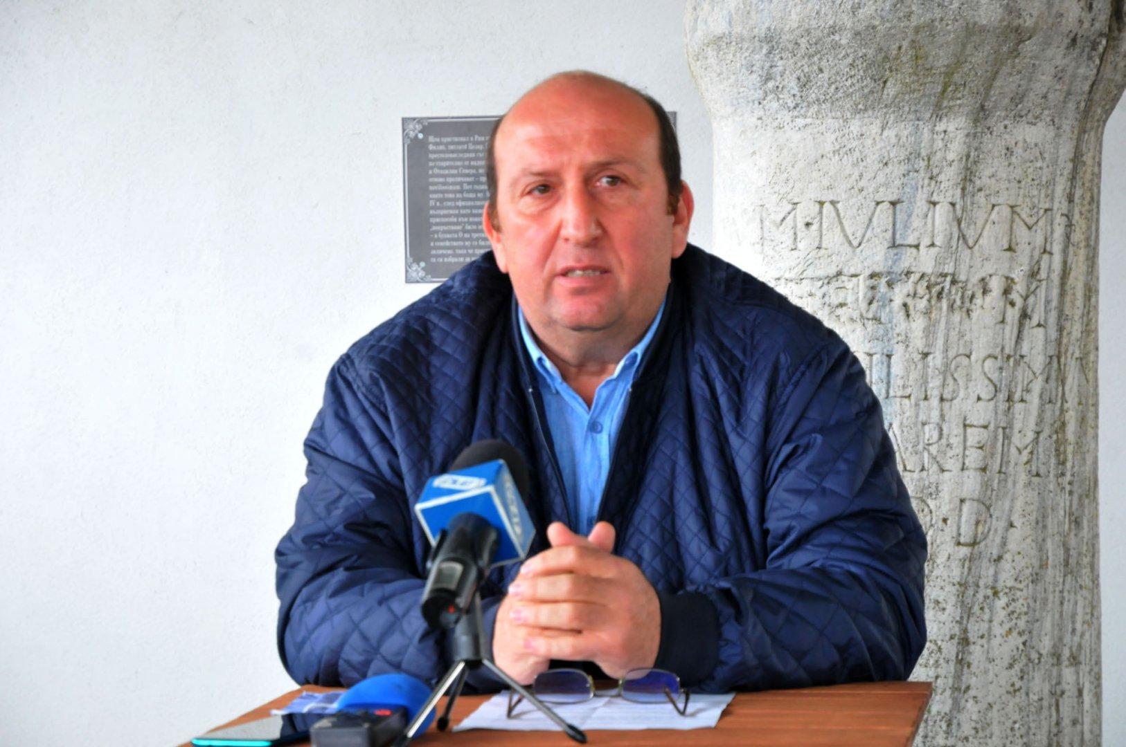 Туризмът е един от приоритетите на нашата Община, каза кметът на Средец Иван Жабов. Снимка Черноморие-бг