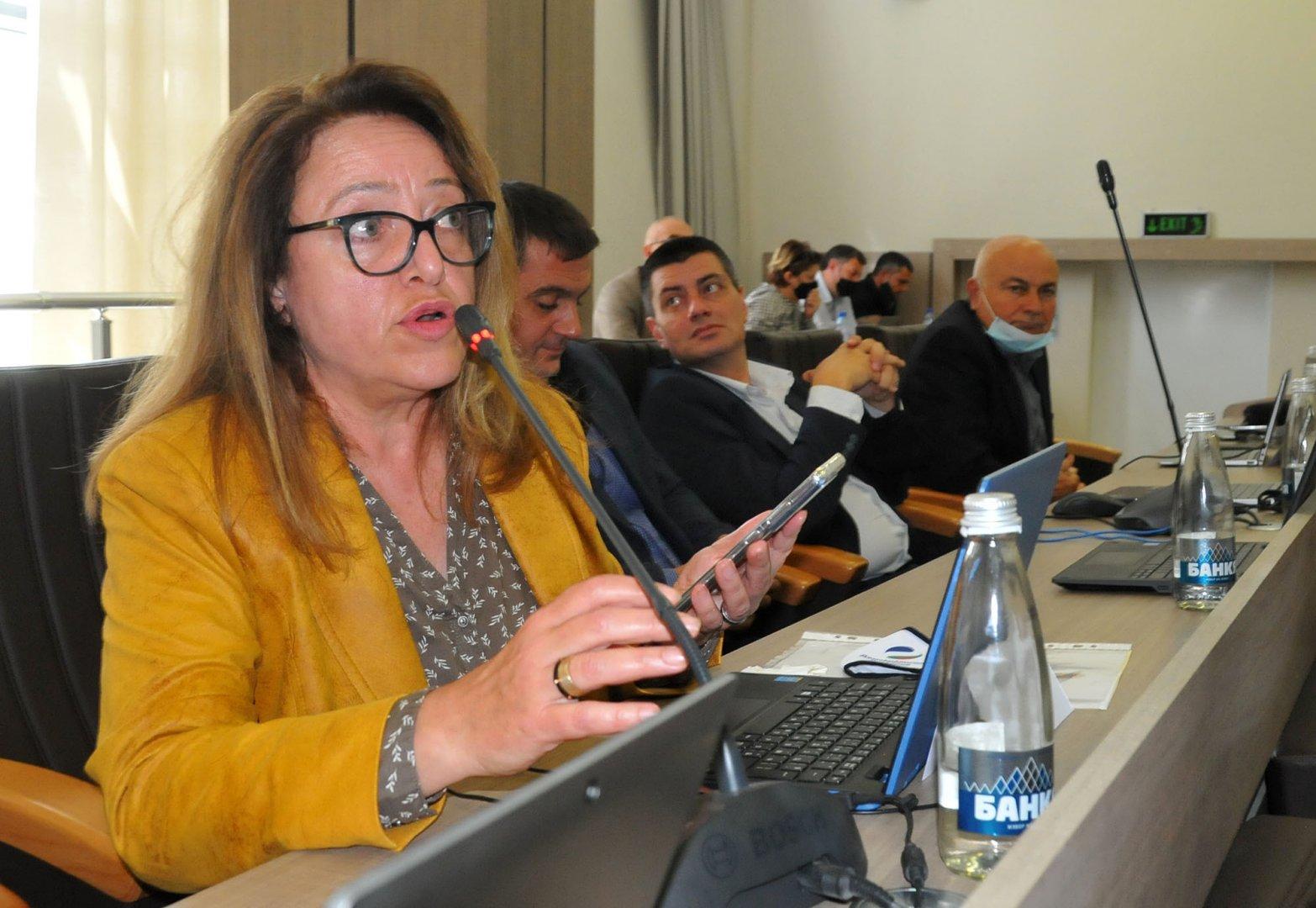 Това е първата докладна записка, която Даниела Божинова входира, след като положи клетва като общински съветник на 26 май. Снимка Черноморие-бг